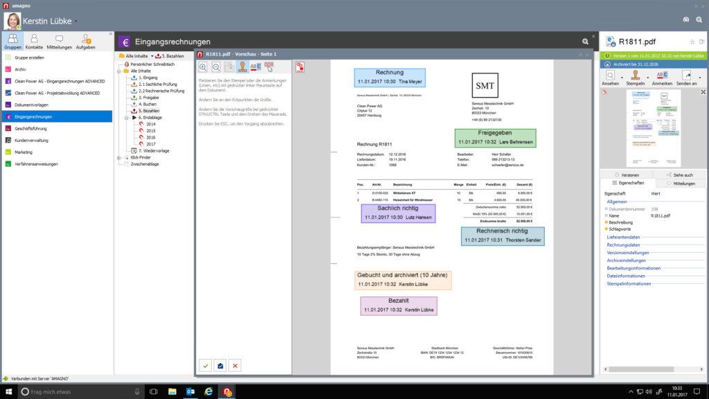 Software für einfachere Dokumentenverwaltung