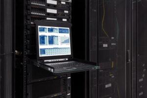 Laptop mit Server